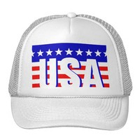 USA Patriot Trucker Hat