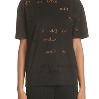 Stella McCartney All Is Love See Through Graphic Tee | Nordstrom