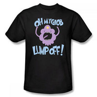 "Adventure Time ""Oh My Glob Lump Off!"" Adult T-Shirt 