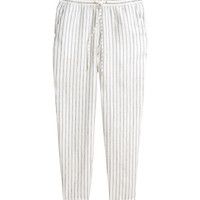 Linen Joggers - from H&M