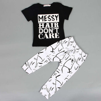 Hot summer style Baby Clothing Sets 2PCs  (Unisex)