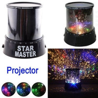 Night Romatic Gift Cosmos Star Sky Master Projector Starry Night Light Lamp = 1945722052