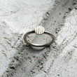 Simple Ring : Silver Lines