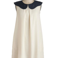 Simplicity is Sweet Dress in Ivory | Mod Retro Vintage Dresses | ModCloth.com