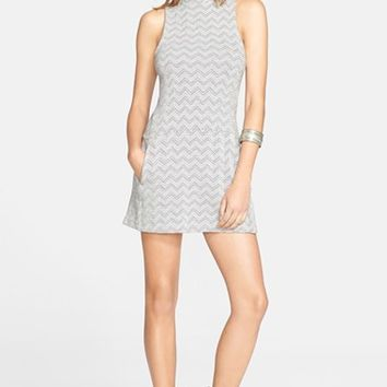 Women's Free People Zigzag Shift Dress,