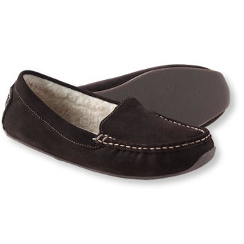 Women's Oceanside Slippers, Fleece-Lined: Slippers | Free Shipping at L.L.Bean