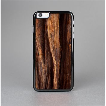 The Aged RedWood Texture Skin-Sert for the Apple iPhone 6 Plus Skin-Sert Case