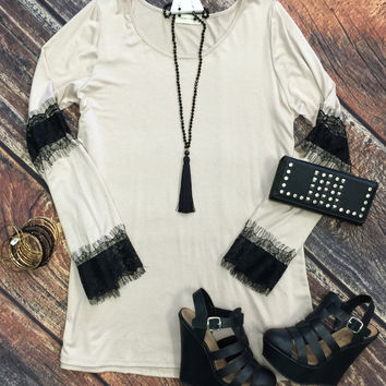 Touch of Lace Tunic Dress
