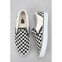 Vans Checkerboard Slip-On Canvas Shoes Flats Shoes Sneakers I