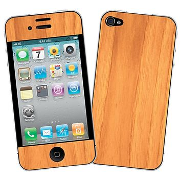 Hickory Skin for the iPhone 4/4S by skinzy.com