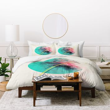 Allyson Johnson Color Explosion Duvet Cover