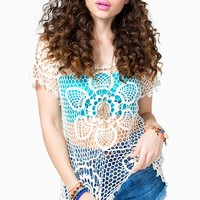 Flower Power Crochet Top