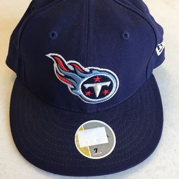 TENNESSEE TITANS RETRO NEW ERA  5950 NAVY FITTED HAT SHIPPING!!