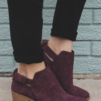Spellbound Booties - Wine