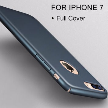 Full cover Plastic shell 4.7for iPhone 7 Case