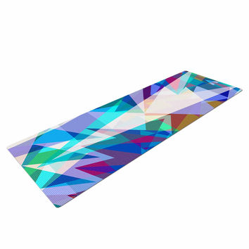 "Miranda Mol ""Triangle Party"" Multicolor Yoga Mat"