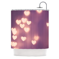 "Beth Engel ""Your Love is Electrifying"" Shower Curtain"