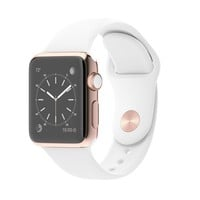 Apple Watch Edition 38mm 18-Karat Rose Gold Case with White Sport Band