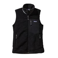 Patagonia Women's Classic Retro-X® Windproof Fleece Vest | Black