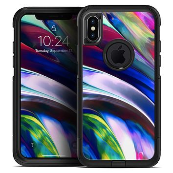 Blurred Abstract Flow V42 - Skin Kit for the iPhone OtterBox Cases