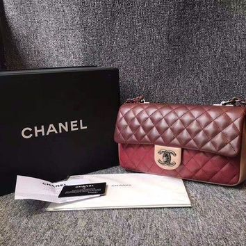 Authentic New Chanel Limited Edition Tri Color Cf With Dust Bag Box Card - Beauty Ticks