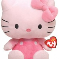 Ty Beanie Baby Hello Kitty - All Pink