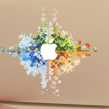 Four Seasons Apple Macbook Pro Air Retina Sticker Skin Vinyl Decal- Macbook Decals, Skins, Macbook Accessories