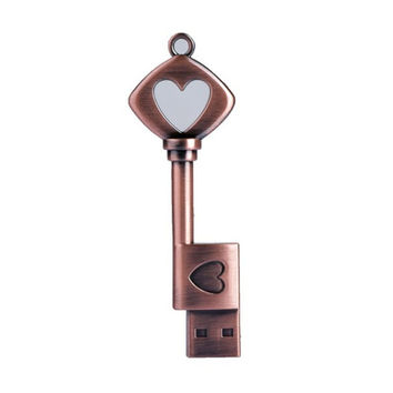 Heart Key USB | From 4 to 32 GB