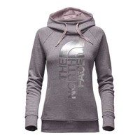 The North Face French Terry Trivert Pullover Hoodie for Women in Quail Grey Heather NF0A2T9A-JQB
