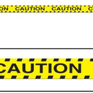 Caution Party Tape Case Pack 12