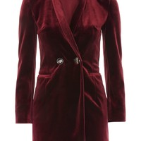 Velvet Blazer Dress - New In Fashion - New In