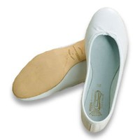 Bridal Leather Flat Hand Made by Freed of London with Over 75 Years of Ballet & Ballroom Dance Shoe Design Experience, Fashionable, Comfortable & Designed For Those Planning to Dance at Their Wedding!