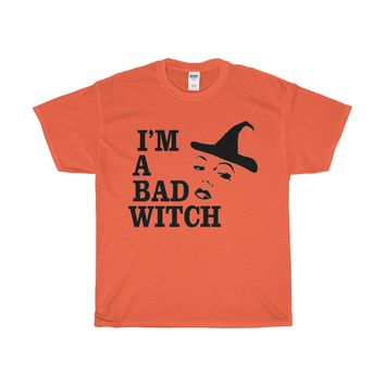 I'm A Bad Witch T-Shirt
