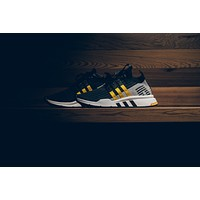 AA HCXX Adidas EQT Support Mid ADV Primeknit - Black/Yellow/White