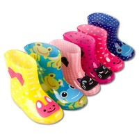 2018 New Children's Rainboots Boys And Girls High-quality Fashion Anti-slip Breathable Cute Shoes Kid Comfortable Healthy Shoes