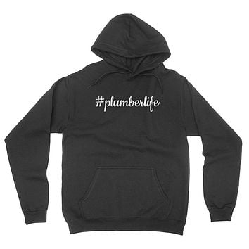 Plumber life funny proffesion occupation graduation  hoodie
