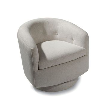 Thayer Coggin Milo Baughman Roxy-O Swivel Chair