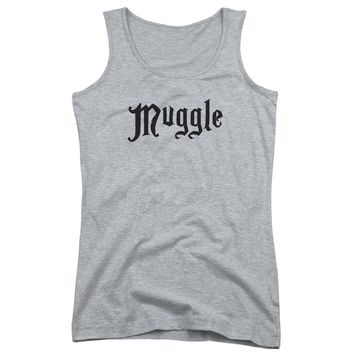 Harry Potter - Muggle Juniors Tank Top Officially Licensed Apparel