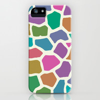 wildlife dreamcoat - giraffe iPhone & iPod Case by Colli13