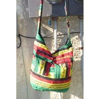 Rasta Hippie Purse Bag  NEW