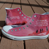 Custom Painted Shoes - Your Favorite Band or Artist