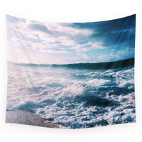 Society6 Blue Ocean Wall Tapestry