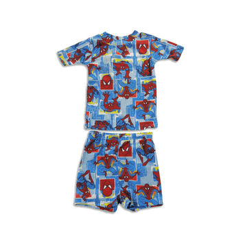 Spiderman Cotton Short Pajamas