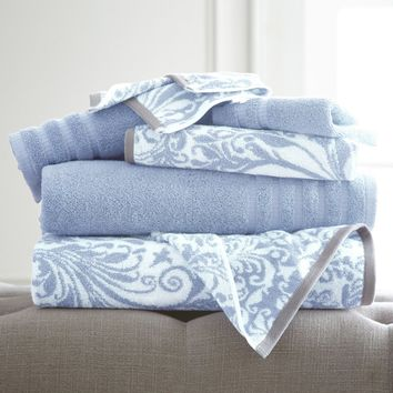 Pacific Coast Filigree Swirl Towel Set | Hayneedle