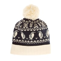 New Look | New Look Penguin Beanie with Bobble at ASOS