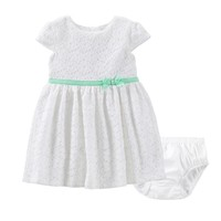 Carter's Flower Lace Dress - Baby