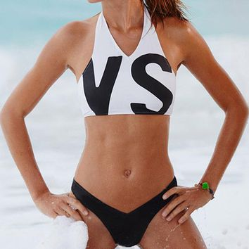 VS - Sexy Bikini - High Neck Swimsuit
