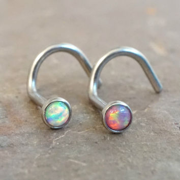 beautiful earrings uk opal stud picclick red fire