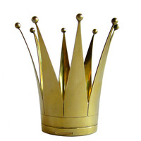 Rare Swedish Sterling Vermeil Wedding Crown at 1stdibs