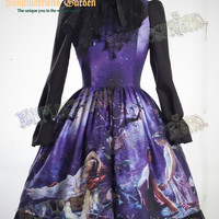 """A Midsummer Night's Dream"": Classic Lolita Sleeveless Dress*2colors Instant Shipping"